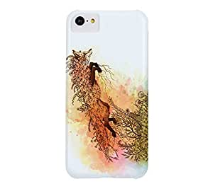 Breaking Free iPhone 5c Alice blue Barely There Phone Case - Design By Humans