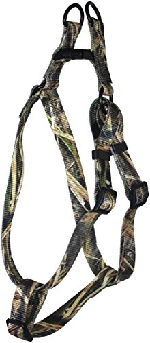 OmniPet Adjustable Step in Pet Harness, Large, Mossy Oak Shadow Grass Blades - Dog Grass Shadow