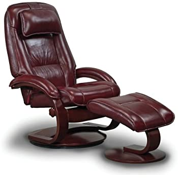 Mac Motion Oslo Collection Recliner with Matching Ottoman in Merlot Top Grain Leather with Alpine Frame  sc 1 st  Amazon.com & Amazon.com: Mac Motion Oslo Collection Recliner with Matching ... islam-shia.org