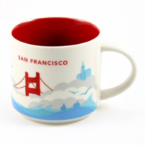 Starbucks San Francisco You Are Here Collection Mug (San Mugs Francisco)
