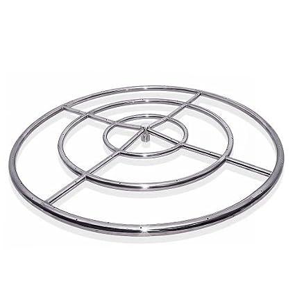 """Starfire Designs 48"""" Triple Fire Pit Ring ... - Amazon.com : Starfire Designs 48"""