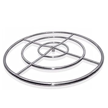 Amazon Com Starfire Designs 48 Triple Fire Pit Ring Ng