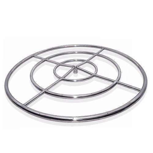 "Starfire Designs 48"" Triple Fire Pit Ring - NG"