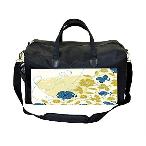 Side Flowers Weekender Bag
