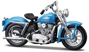 METAL 1:18 MAISTO 34360 Harley-Davidson 1953 74FL Hydra Glide