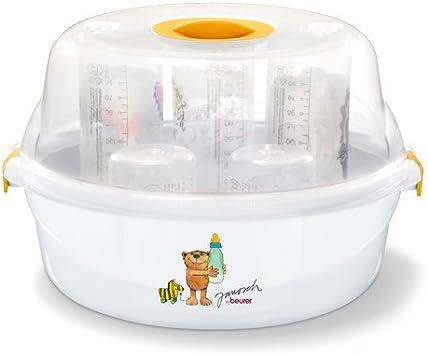 Beurer JBY 40 Esterilizador de vapor para microondas, blanco ...