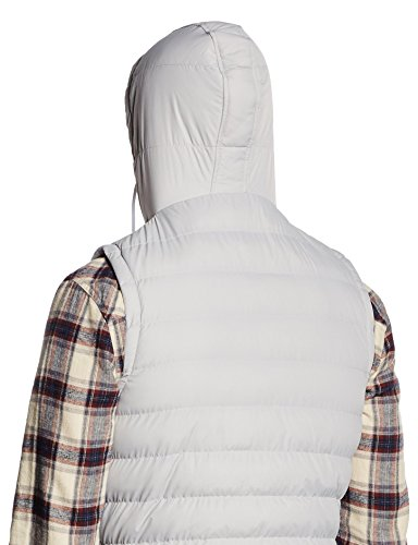 Manche Classics gry Small Bubble Hooded Urban Homme Vest wht Multicolore wv6qX6d