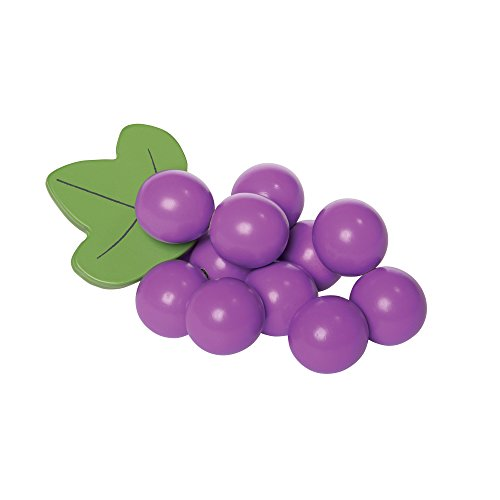 Grape Toy - Manhattan Toy Farmer's Market Grape Beads Baby Motor Skill Toy