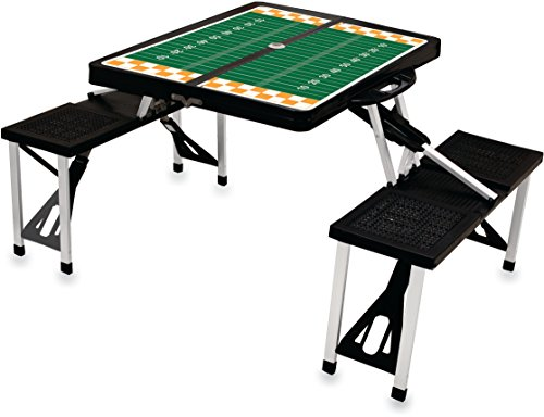 NCAA University of Tennessee Volunteers Digital Print Picnic Table Sport, Black, One Size
