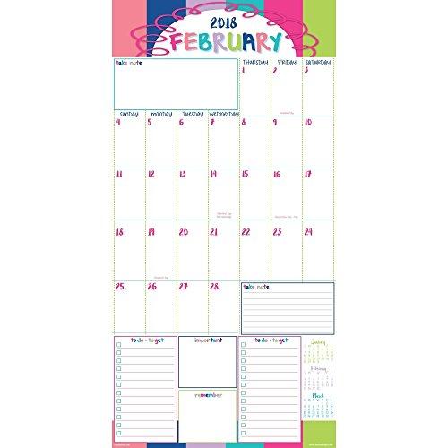 2018 Reminder Binder Albright Wall Calendar Photo #2