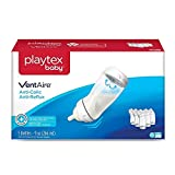Playtex 05226 Baby Ventaire Anti Colic Baby Bottle, BPA Free, 9 Ounce - 5 Pack