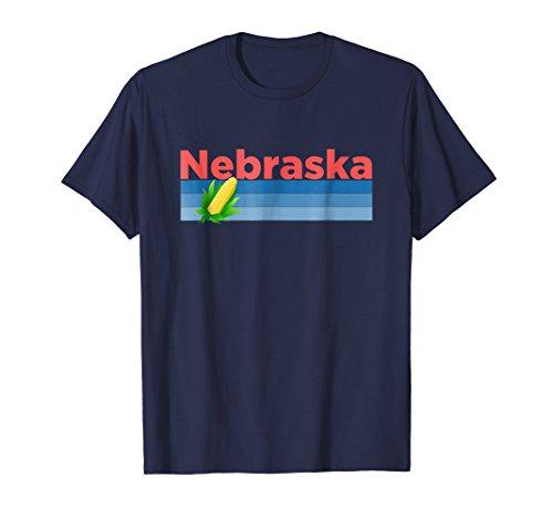 (Retro Corn & Farming - Nebraska T-Shirt)