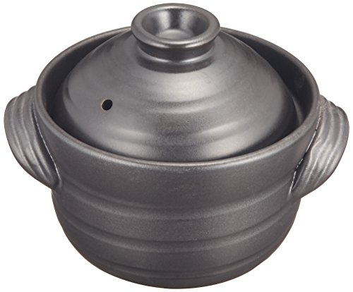 japanese clay rice cooker - 1