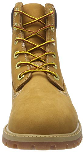 Waterproof In Nubuck Premium Mixte Timberland 6 wheat Bottes Jaune Enfant 5qHnzxtwRf