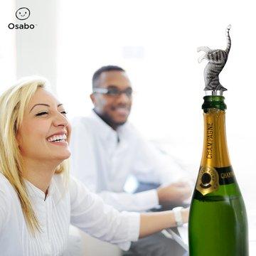 OSABO | Cat Wine Stopper | Cat lovers | Funny Cat Wine Bottle Stopper