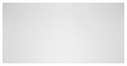 Genesis Easy Installation Stucco Pro Lay-in White Ceiling Tile/Ceiling Panel, Carton of 10 (2' x 4' Tile)