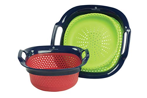 Salvo Collapsible Colander - Quart 3 Collapsible