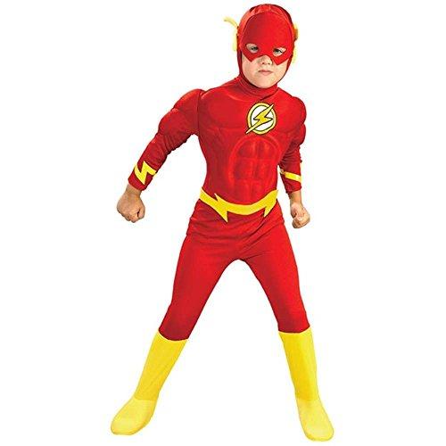 The Flash avec poitrine Muscléee - Costume de déguisement