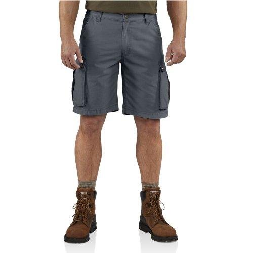 (Carhartt Men's Rugged Cargo Short Relaxed Fit,Bluestone (Closeout),29)