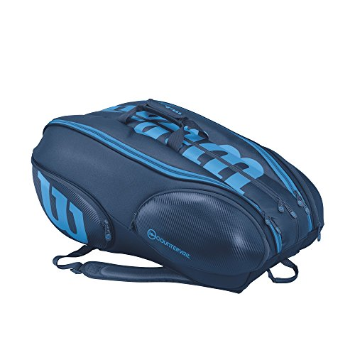 Vancouver Racket Bag, Ultra Collection - 15 Pack (Blue) by Wilson (Image #2)