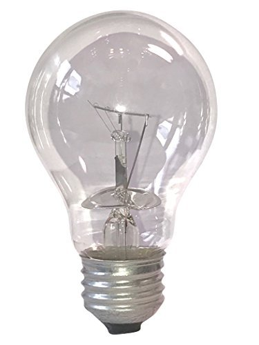 Vetlo Lighting A19/CL/RS-6PK 100 Watt Incandescent A19 Rough Service Bulb, Clear, 6 Pack (Incandescent 100w Bulb)