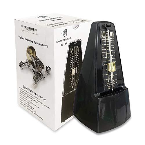 ZhangSheng C510 Classic Mechanical, Universal Metronome for Piano, Guitar, Violin, Other Instruments (Black)