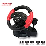 GAMEMON Racing wheel compatible with Playstation3