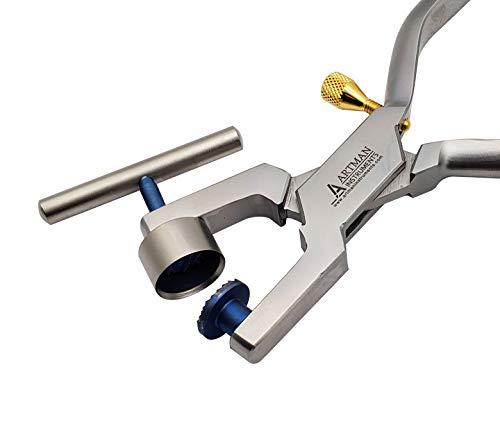 (Bone Morselizer Bone Mill Crusher with titanium plates dental implant bone)