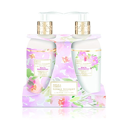 Baylis & Harding Royale Bouquet Rose and Honeysuckle Bottle Set - by Baylis & Harding