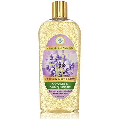 Ginseng Biotin Hair Gel (Natural & Organic Restorative Shampoo - French Lavender, Premium Hair Regrow Shampoo for Men and Women - with Biotin, Hemp Oil, Aloe Vera, Ginseng for Thin, Frizzy, Dry, Split Ends Hair - 12 oz)