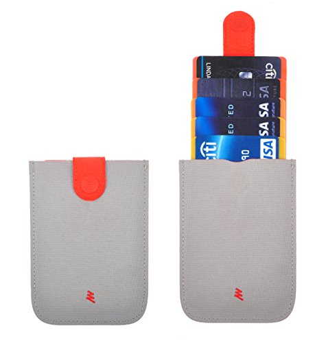 Pull Card (RFID Artistic Slim Card Wallet, Cards & ID Cases Pocket Wallet For Men Women Burning Clouds)