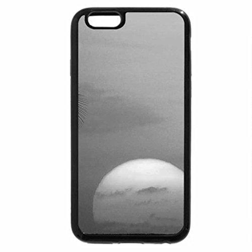 iPhone 6S Plus Case, iPhone 6 Plus Case (Black & White) - Hawaii Background
