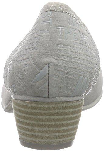 Grau s Geschlossene 22301 Grey Lt 204 Oliver Damenpumps IUnrIW