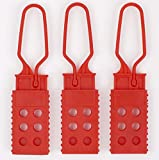 TRADESAFE Lock Out Tag Out Lock Hasp. 3 Pack Red