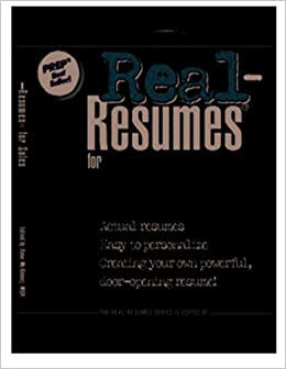 Book Real-Resumes for Sales