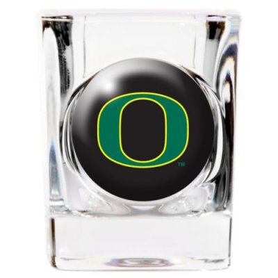 Great American 8900622920 2 oz. Oregon Ducks Square Shot Glass