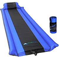 IFORREST Sleeping Pad with Armrest & Pillow - Self...
