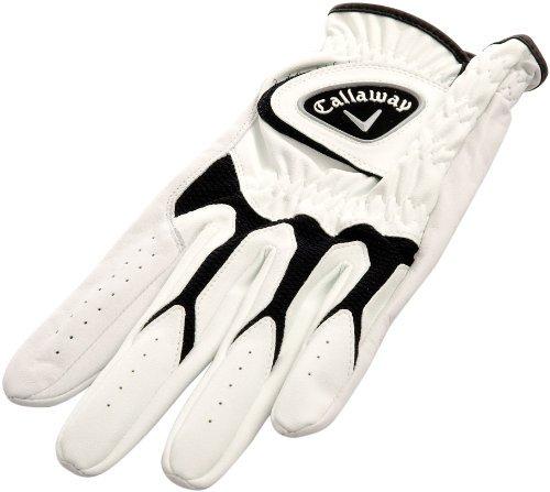 Callaway Men's Tech Series Tour Left Hand Medium /Large - White, 29 cm by Callaway