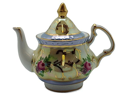 Victorian Tea Pot with Deluxe Gold Design