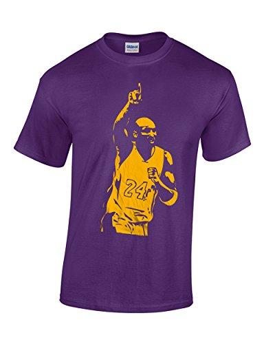 Crazy Bros Tee's Kobe Bryant Black Mamba Los Angeles #24 Men's T-Shirt