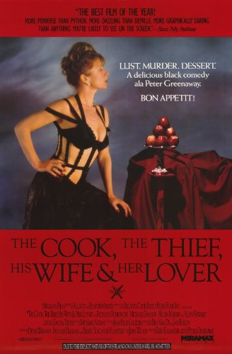 The Cook Thief, His Wife and Her Lover 11 x 17 Movie Poster - Style B