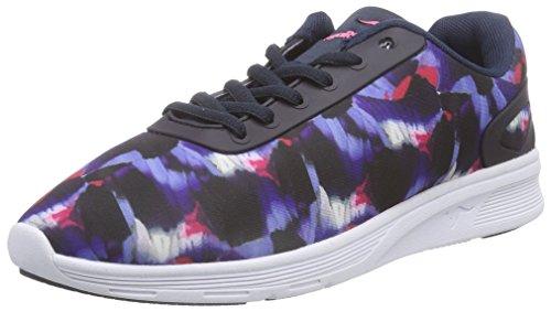 KangaROOS 8012 B Unisex-Erwachsene Sneakers Blau (dk navy multi 469)