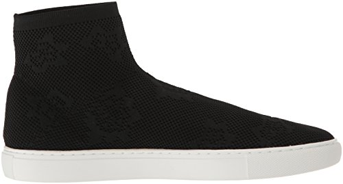 Kenneth Cole New York Womens Keating Stretch Knit Hoge Top Sneaker Zwart