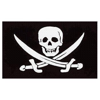Pirate flag dicks handles