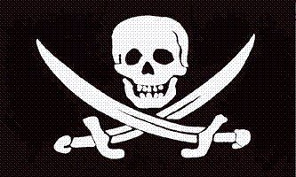 Calico Flag Rackham Jack - Calico Jack Rackham Pirate Jolly Roger Flag 3x5 3 x 5