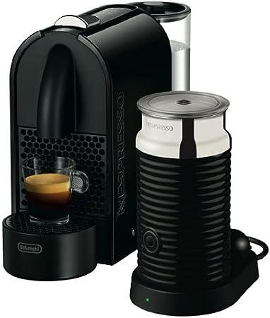 Nespresso U Pure Black EN110BAE DeLonghi - Cafetera monodosis: DeLonghi: Amazon.es: Hogar
