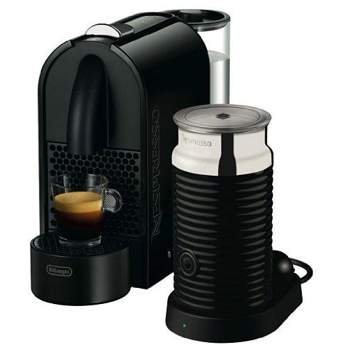 Nespresso U Pure Black EN110BAE DeLonghi - Cafetera monodosis