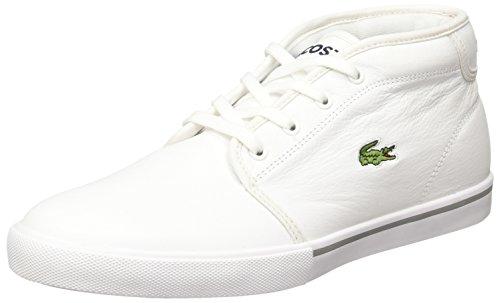 Lacoste Men's Ampthill LCR3 SPM Trainers, White White White