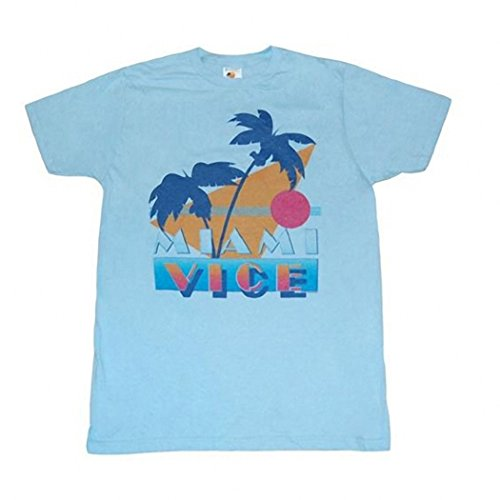 Miami Vice 80s Graphic T-shirt - S to 3XL
