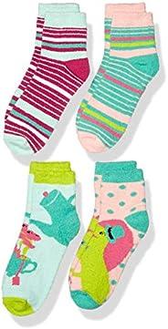 Amazon Brand - Spotted Zebra Girls Fuzzy Cozy Socks